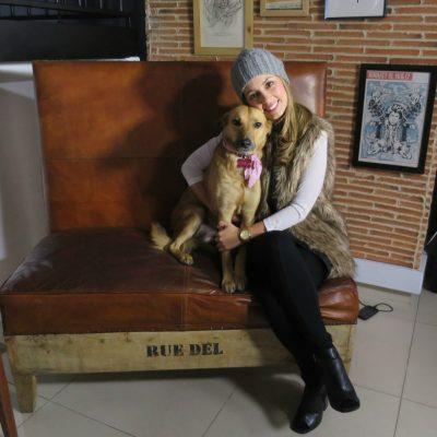 Milena López, presentadora de TV y modelo, Sancho 2016
